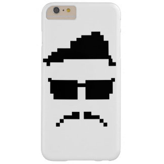 8-bit hipster barely there iPhone 6 plus case