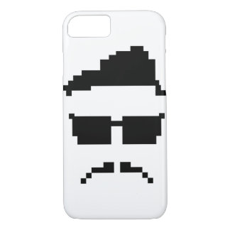 8-bit hipster iPhone 8/7 case