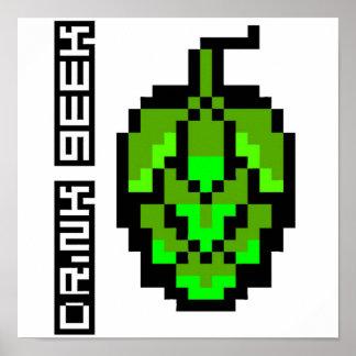 8-Bit Hop Poster