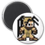 8-Bit Ibuki 2 Inch Round Magnet
