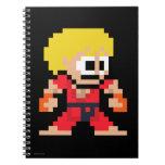 8-Bit Ken Spiral Notebook