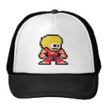 8-Bit Ken Trucker Hat