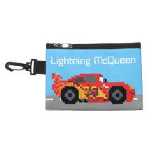 8-Bit Lightning McQueen Accessory Bag