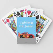 8-Bit Lightning McQueen Bicycle Playing Cards