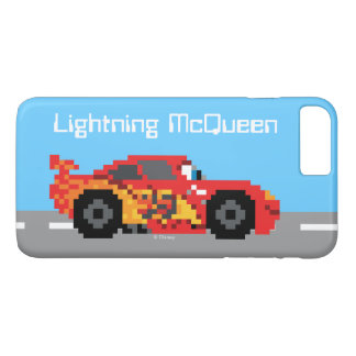 8-Bit Lightning McQueen iPhone 7 Plus Case