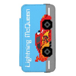 8-Bit Lightning McQueen iPhone SE/5/5s Wallet Case