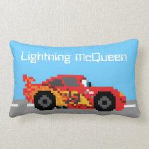 8-Bit Lightning McQueen Lumbar Pillow