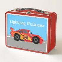8-Bit Lightning McQueen Metal Lunch Box