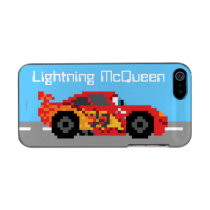 8-Bit Lightning McQueen Metallic Phone Case For iPhone SE/5/5s
