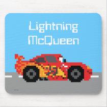 8-Bit Lightning McQueen Mouse Pad