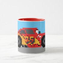 8-Bit Lightning McQueen Mug