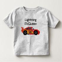8-Bit Lightning McQueen Toddler T-shirt