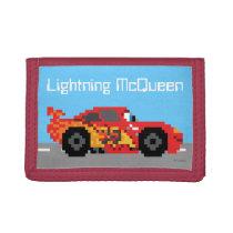 8-Bit Lightning McQueen Tri-fold Wallet