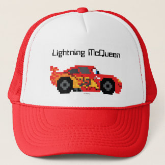 8-Bit Lightning McQueen Trucker Hat
