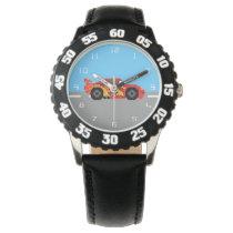 8-Bit Lightning McQueen Watch