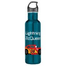 8-Bit Lightning McQueen Water Bottle