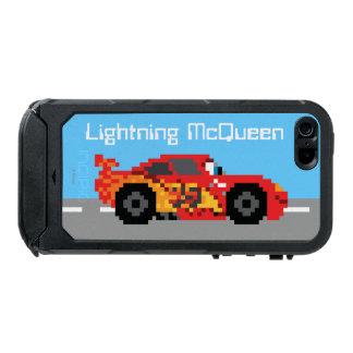 8-Bit Lightning McQueen Waterproof Case For iPhone SE/5/5s