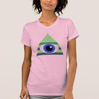 8-Bit-Like lindo Illuminati Polera