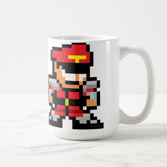 8-Bit M. Bison Coffee Mug