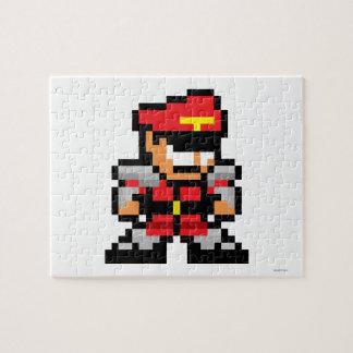8-Bit M. Bison Jigsaw Puzzle