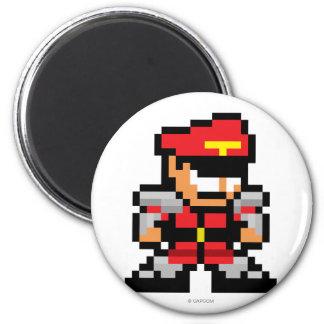 8-Bit M. Bison Magnet