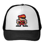 8-Bit M. Bison Mesh Hats