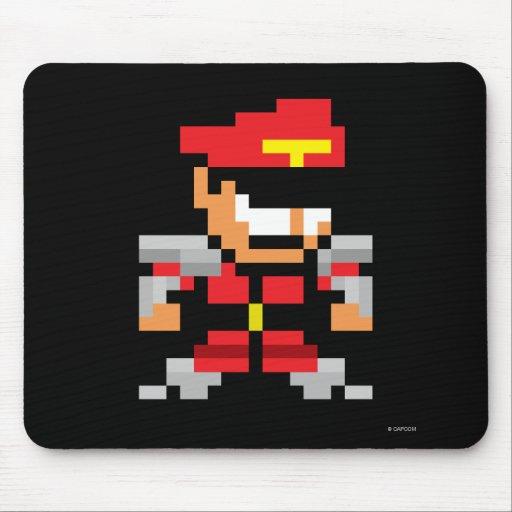 8-Bit M. Bison Mousepad