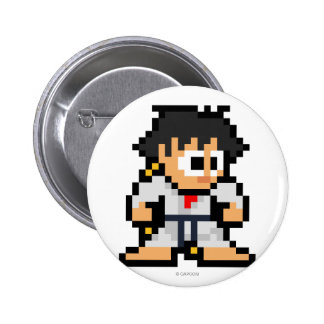 8-Bit Makoto Pinback Button