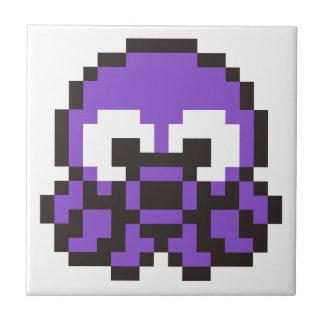 8 Bit Octopus Ceramic Tile