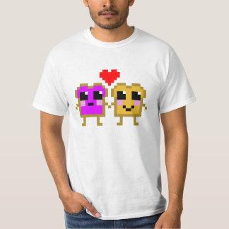 8 Bit Peanut Butter and Jelly T-shirt