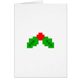 8-bit Pixel Christmas Card