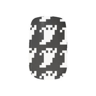 8 Bit Pixel Ghost Minx ® Nail Wraps