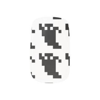 8 Bit Pixel Ghost Shadow Minx ® Nail Art