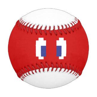 8 Bit Pixel Manga Eyes Baseball