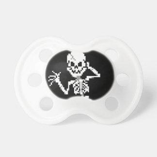 8-bit Pixel Skeleton Sprite Pacifier