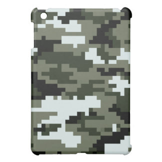 8 Bit Pixel Urban Camouflage / Camo iPad Mini Cases