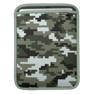 8 Bit Pixel Urban Camouflage / Camo Sleeve For iPads