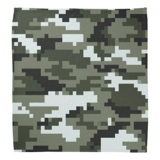 8 Bit Pixel Urban Camouflage Bandana