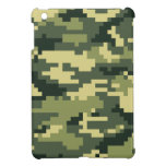 8 Bit Pixel Woodland Camouflage Cover For The iPad Mini