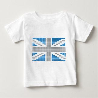 8-bit Pixels Union Jack British(UK) Flag Infant T-shirt