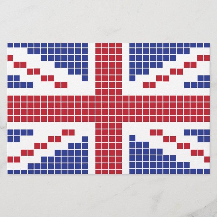 12x12 Plaid Tartan Grunge jpg files Great Britain England British English Union Jack Flag Set of 6 Vintage UK Digital Scrapbook Paper Pack