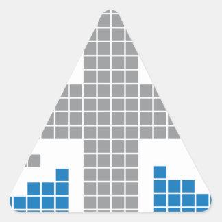 8-bit Pixels Union Jack British(UK) Flag Sticker