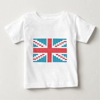 8-bit Pixels Union Jack British(UK) Flag Tee Shirt