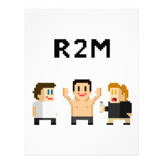 8 bit R2M Letterhead