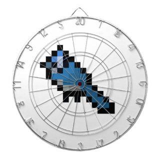 8-Bit Retro Bluejay Dartboard
