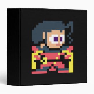 8-Bit Rose Vinyl Binder