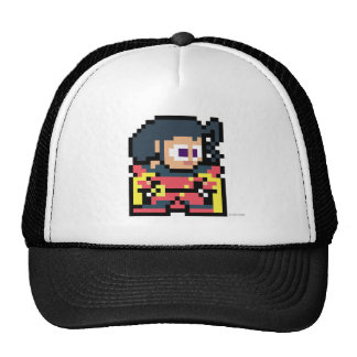 8-Bit Rose Trucker Hat