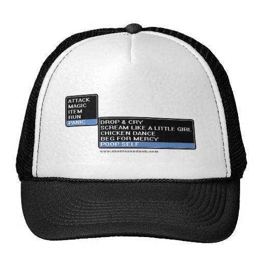 8 Bit RPG Battle Menu Trucker Hat