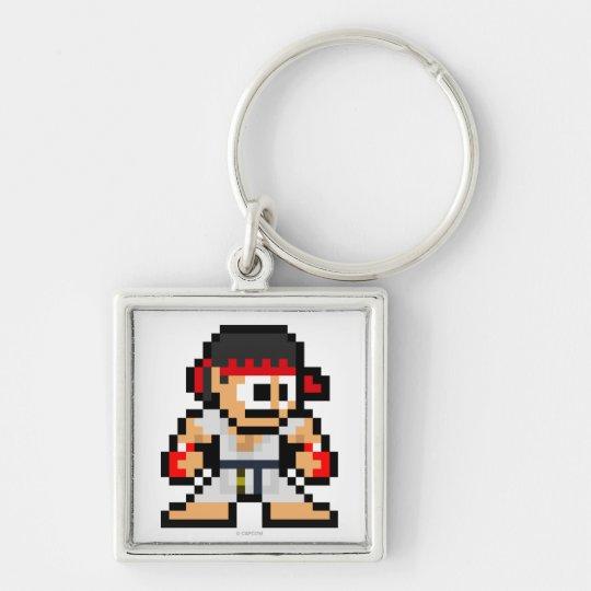 8-Bit Ryu Keychain