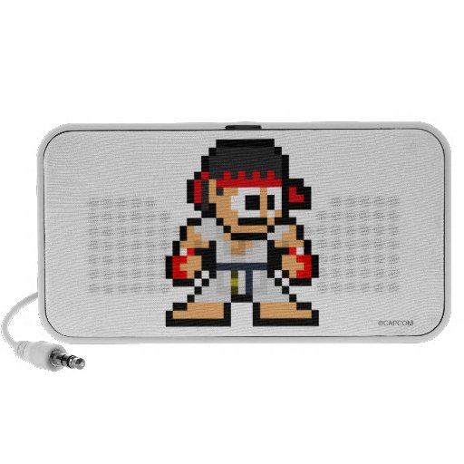 8-Bit Ryu iPhone Speaker